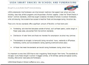 USDA-Smart-Snack-FUNDRAISING