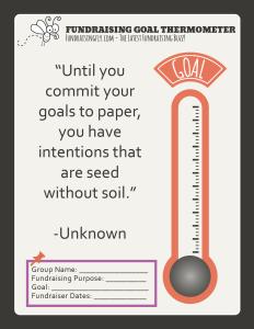 Goal-Sheet