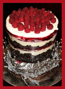 Raspberry-Trifle